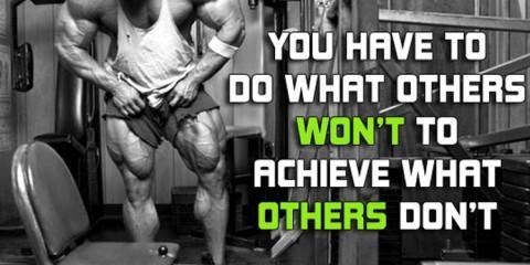 Bodybuilding-Motivation