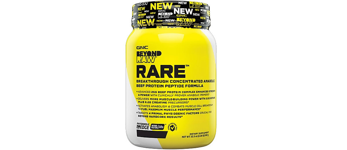 GNC Beyond RAW RARE Reviews - New Beef Protein