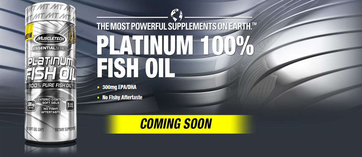 MuscleTech Platinum 100% Fish Oil Reviews-Healthy omegas