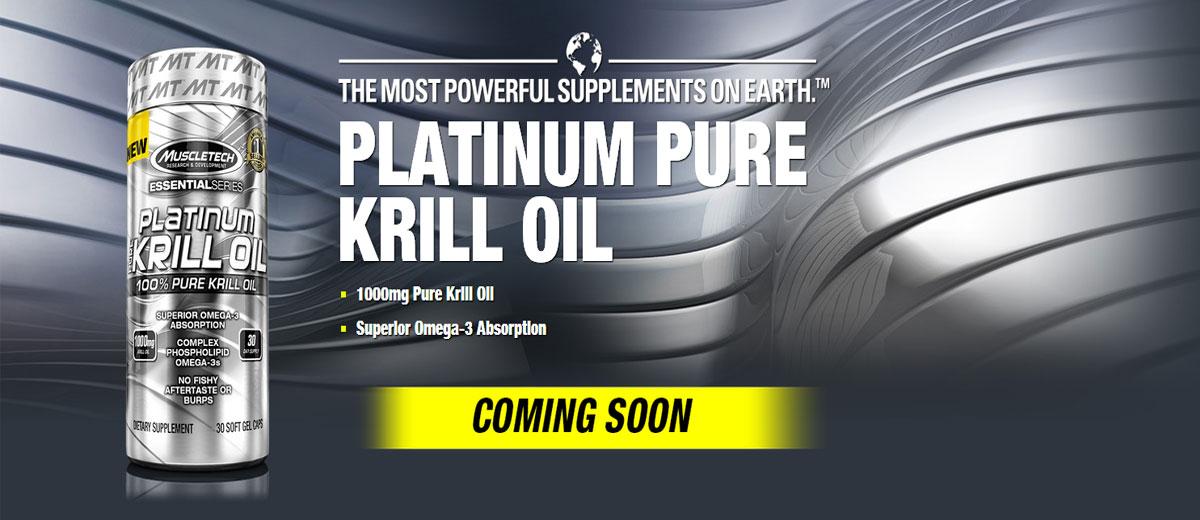 MuscleTech Platinum Pure Krill Oil Reviews-Boost Brainpower
