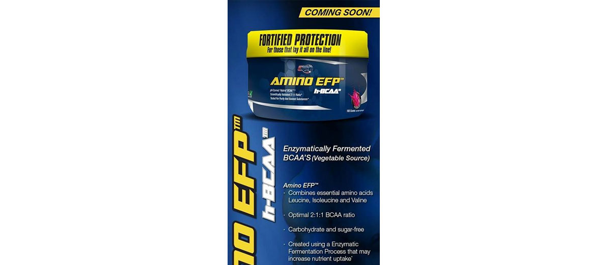 All American EFX Amino EFP Reviews - New BCAA Supplement