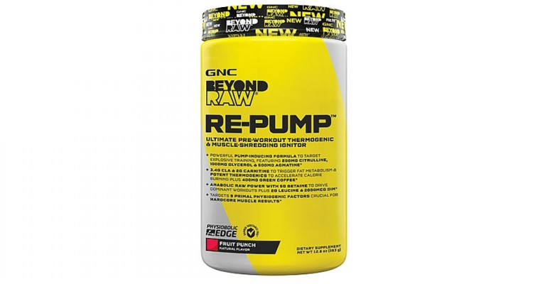 GNC Beyond Raw Pre-Workout