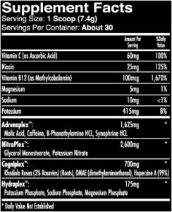 iForce Nutrition MaxOut
