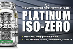 MuscleTech Platinum 100 Iso-Zero Essential Series