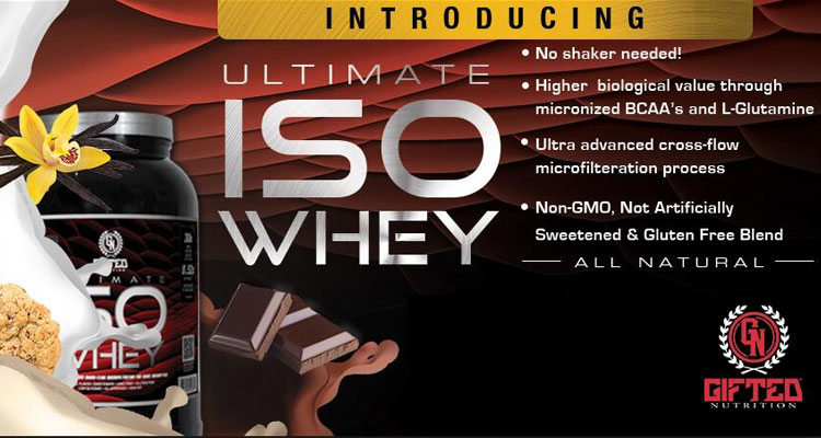 Image result for Gifted ISO Whey ( 5lbs )