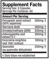 Alpha JYM Nutrition Info