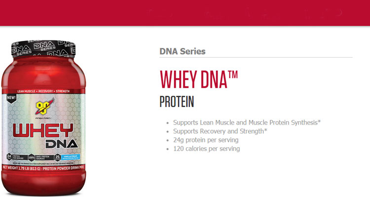 BSN-Whey-DNA-Series