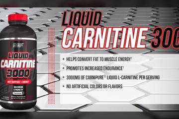 Nutrex Liquid Carnitine 3000 Reviews